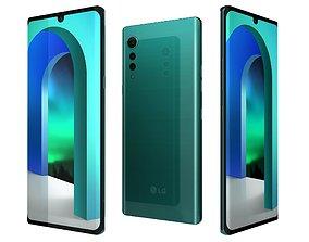 LG Velvet Aurora Green 3D model