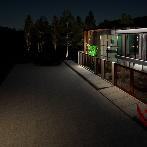 Architectural Residential 3d model