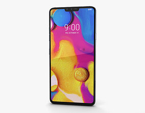 3D model LG V40 ThinQ Platinum Gray