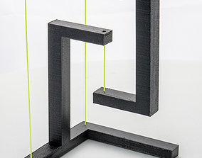tensegrity 3D print model Tensegrity Structure