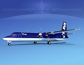 3D Fokker F-60 VLM