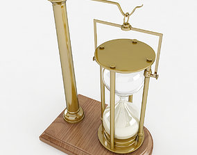 3D model Hourglass on Stand hourglass