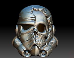 3D print model Death Trooper Helmet space
