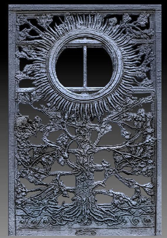 The Iron Door of Leuchtturm Kiel  Holtenau