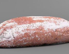3D scan Rye bread
