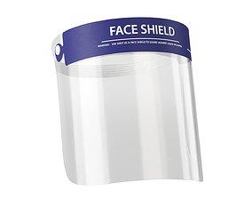 Protective Face Shield 3D asset