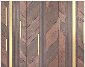 3D model Decor wood Panel 31
