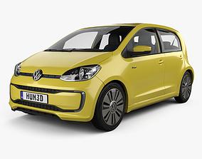 3D Volkswagen e-Up 5-door with HQ interior 2016