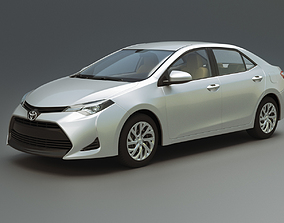 3D model Toyota Corolla LE 2019