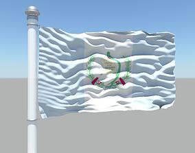 3D Guatemala flag