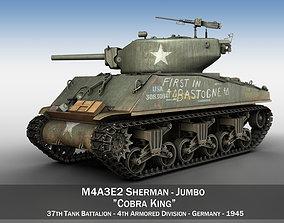 3D M4A3E2 - Sherman Jumbo - Cobra King