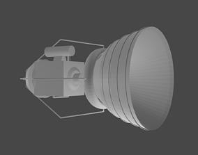 Rocket Engine V1 3D model