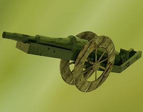 WW1-Cannon Ball 3D asset