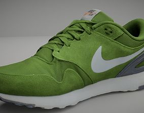 Nike shoe low poly 3D model training-shoe low-poly