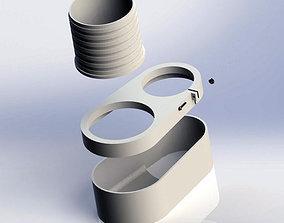 3D print model Dust Shoe for CNC Router table