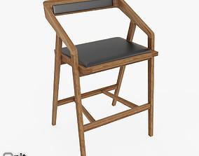 Katakana Bar stool by Dare Studio 3D model