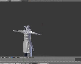 C production 3D model