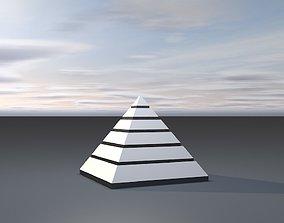 3D print model Sky castle Pyramid