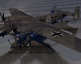 3D model Junkers Ju-288C