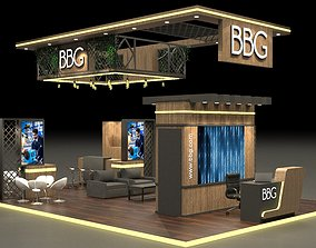 3D Exhibition Stand 10x6m