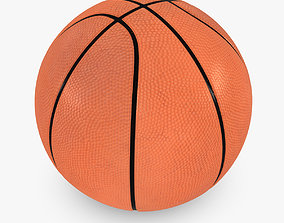 3D model VR / AR ready Basketball Ball