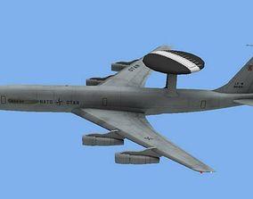 E-3 AWACS 3D asset