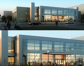 store 3D model Building