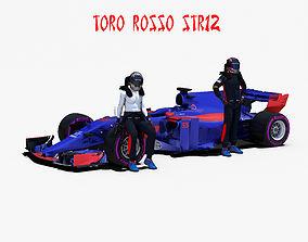 3D asset Toro Rosso STR12