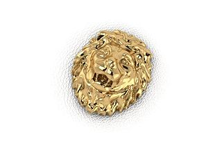 3D printable model Lion Head miniatures