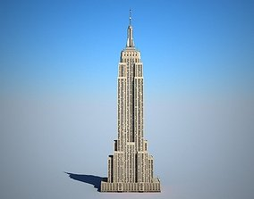 3D Empire State Building