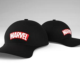 3D model Marvel Entertainment Cap