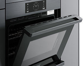 Double Wall Oven - Hyper detailed 3D model