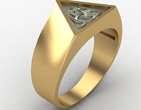 3D print model Ring with a pattern