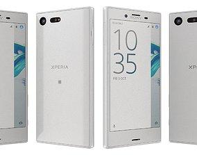 3D Sony Xperia X Compact White white