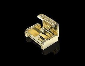 3D printable model 15mm Diamonds Cuban Links Locks