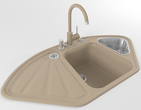 Kitchen sink 04 3D