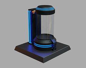 3D asset game-ready Sci Fi Chamber