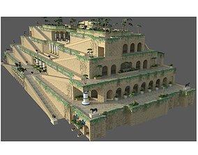 3D model Hanging Gardens of Babylon