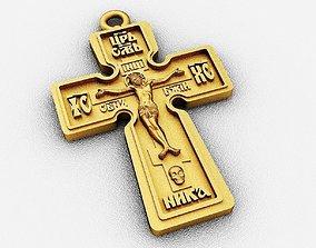 religious 3D printable model Cross