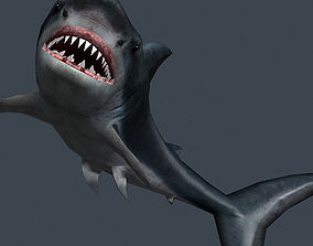 3DRT - Shark Jaws Pack animated realtime