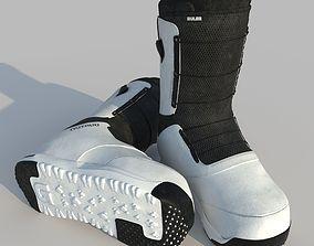 Snowboard Boots RULER 3D model