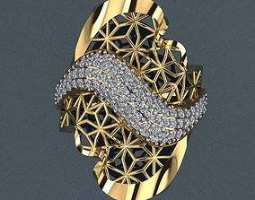 3D print model fashion-and-beauty diamond Ring 26