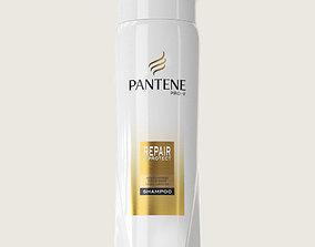 Pantene Shampoo Bottle 3D asset