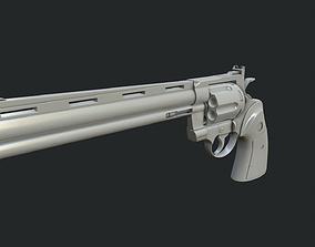 Colt Python hightpoly 3D