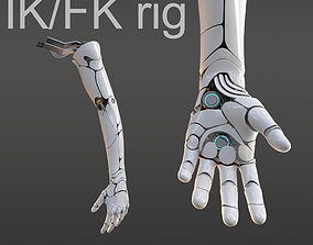 3D hand anatomy mechanical