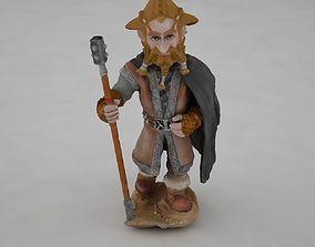 Hobbit character 3D model