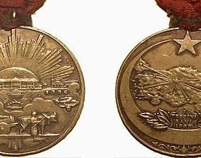 Turkish Independence War Medal 3D printable model