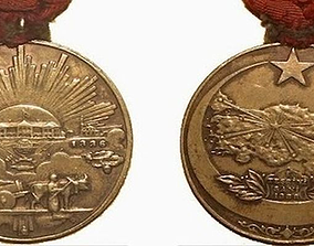 Turkish Independence War Medal 3D printable model