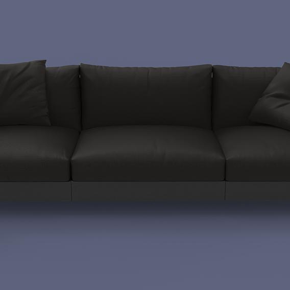 Living Divani Chemise Sofa 3seater