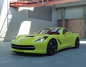 2020 Chevrolet Corvette C7 3D model